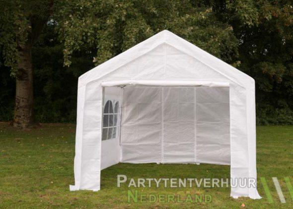Partytent 3x3 meter voorkant huren - Partytentverhuur Dordrecht