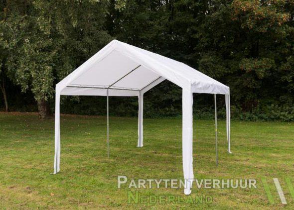 Partytent 3x4 meter schuin voorkant huren - Partytentverhuur Dordrecht