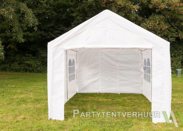 Partytent 3x4 meter voorkant huren - Partytentverhuur Dordrecht
