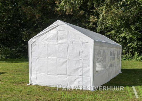 Partytent 3x6 meter achterkant huren - Partytentverhuur Dordrecht