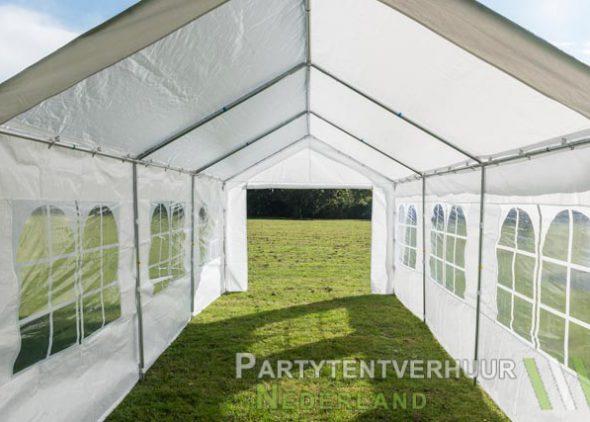 Partytent 3x6 meter binnenkant (2) huren - Partytentverhuur Dordrecht