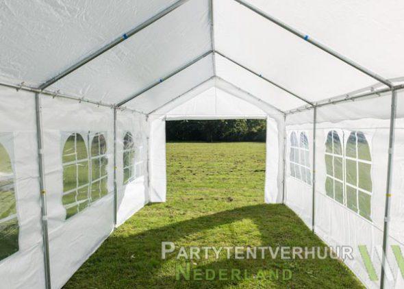 Partytent 3x6 meter binnenkant huren - Partytentverhuur Dordrecht