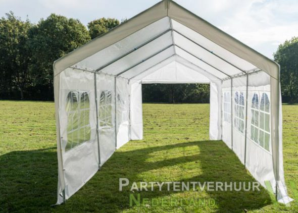 Partytent 3x6 meter open huren - Partytentverhuur Dordrecht
