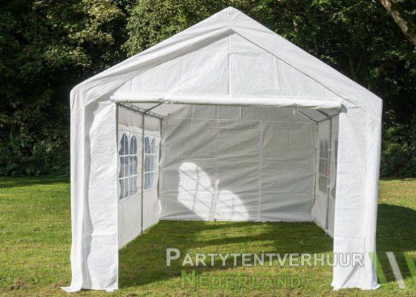 Partytent 3x6 meter voorkant huren - Partytentverhuur Dordrecht