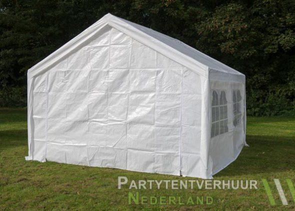 Partytent 4x4 meter achterkant huren - Partytentverhuur Dordrecht