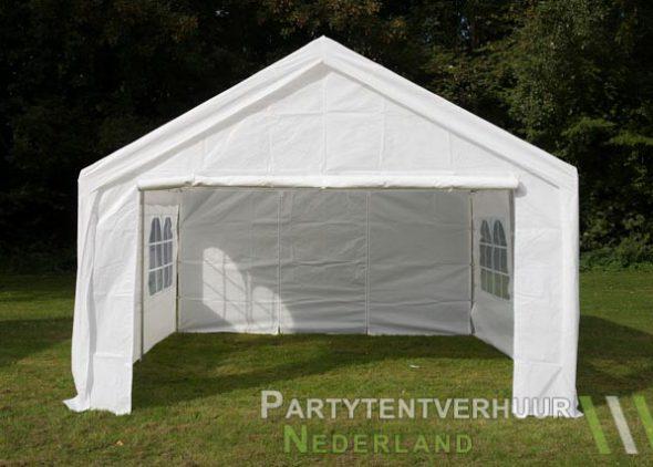 Partytent 4x4 meter voorkant huren - Partytentverhuur Dordrecht