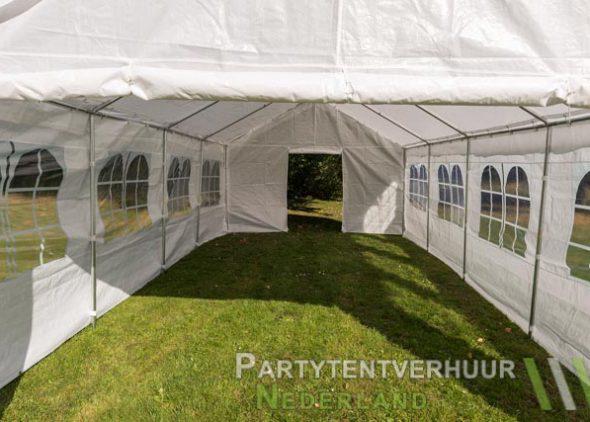 Partytent 4x8 meter binnenkant huren - Partytentverhuur Dordrecht