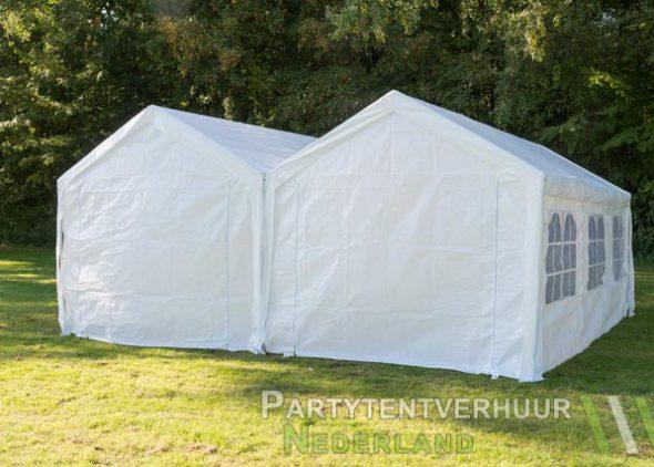 Partytent 6x6 meter achterkant huren - Partytentverhuur Dordrecht