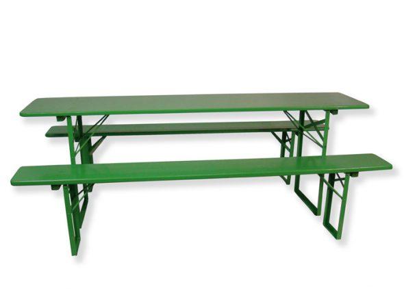 Groene biertafel huren Dordrecht