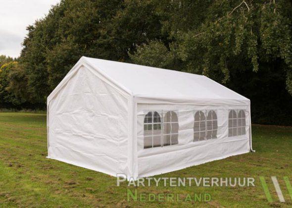 Partytent 4x6 meter achterkant huren - Partytentverhuur Dordrecht