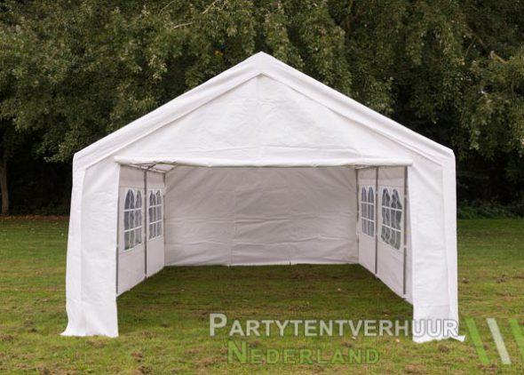 Partytent 4x6 meter voorkant huren - Partytentverhuur Dordrecht