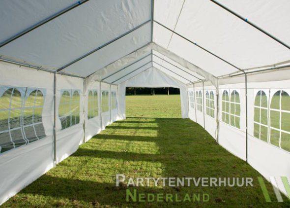 Partytent 6x12 meter binnenkant open huren - Partytentverhuur Dordrecht