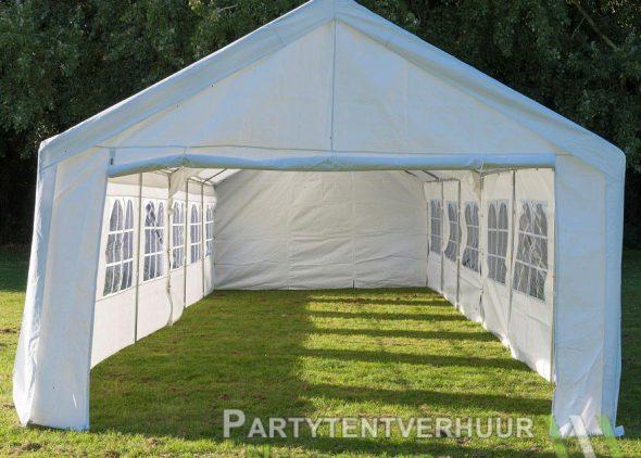 Partytent 6x12 meter voorkant huren - Partytentverhuur Dordrecht