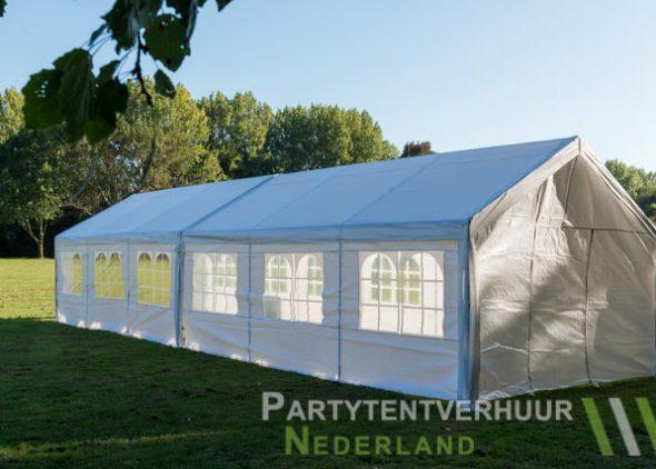 Partytent 6x12 meter zijkant links huren - Partytentverhuur Dordrecht