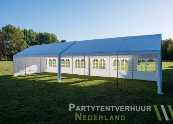 Partytent 6x12 meter zijkant open huren - Partytentverhuur Dordrecht