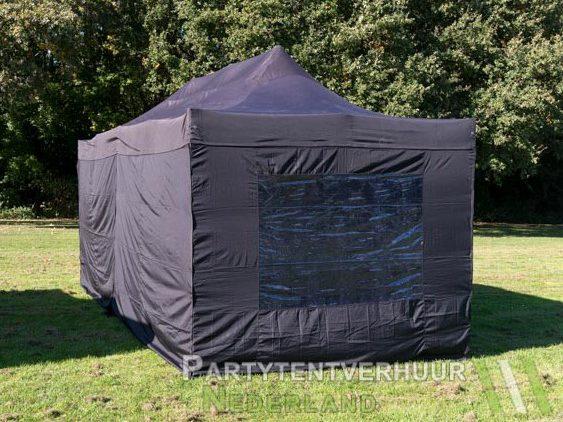 Easy up tent 3x6 meter achterkant huren - Partytentverhuur Dordrecht
