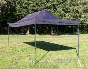 Easy up tent 3x6 meter schuin voorkant huren - Partytentverhuur Dordrecht