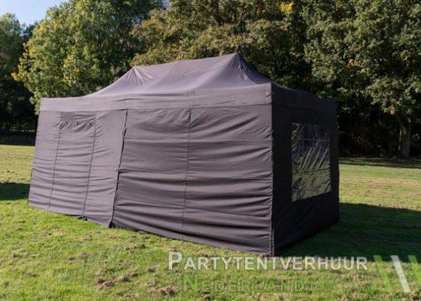 Easy up tent 3x6 meter zijkant huren - Partytentverhuur Dordrecht