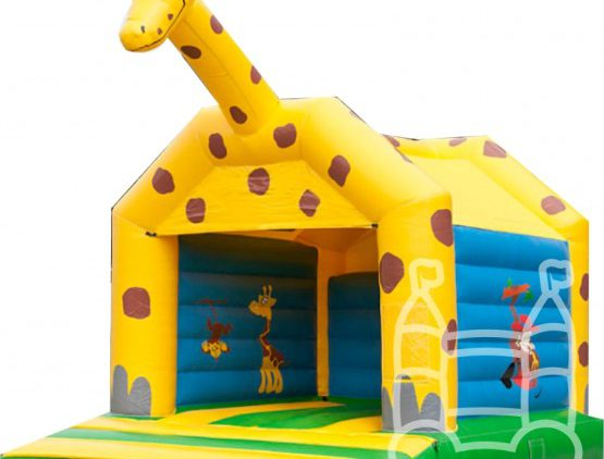 Springkussen giraffe huren in Dordrecht