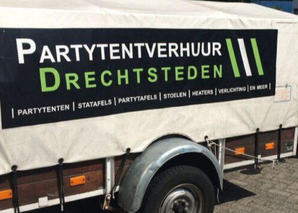 aanhangwagen partytentverhuur drechtsteden