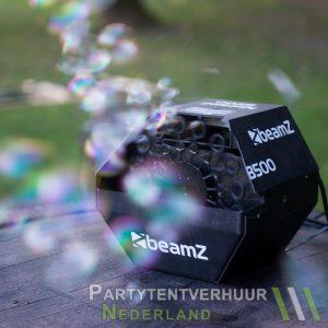 Bellenblaasmachine met bellen huren - Partytentverhuur Dordrecht