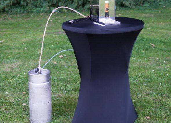 Biertap gemonteerd aan bierfust huren - Partytentverhuur Dordrecht