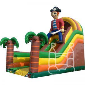 Piraten Glijbaan XXL 6x4 meter huren