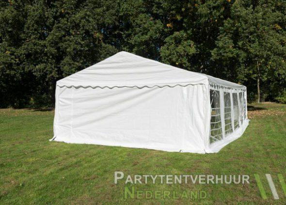 Partytent 5x10 meter achterkant huren - Partytentverhuur Dordrecht