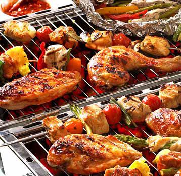 barbecue pakket partytentverhuur Dordrecht