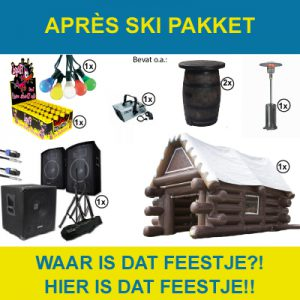 Huur het apres ski pakket in Dordrecht.