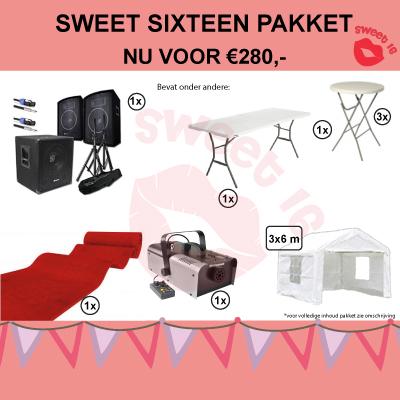 Geef een sweet sixteen party in Dordrecht