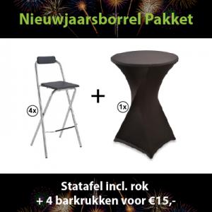 Huur het nieuwjaarsborrel pakket in Dordrecht