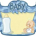 Baby jongen Kroonschild - Partytentverhuur Dordrecht