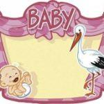 Baby meisje kroonschild - Partytentverhuur Dordrecht