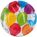Ballon Bord 23 cm Partytentverhuur Dordrecht