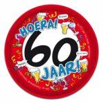 Dienblad 60 jaar kopen - Partytentverhuur Dordrecht