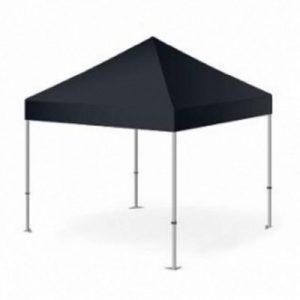 Easy Up Tent 2x2 Zwart Huren - Partytentverhuur Dordrecht