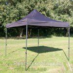 Easy up tent 3x3 meter schuin huren - Partytentverhuur Dordrecht