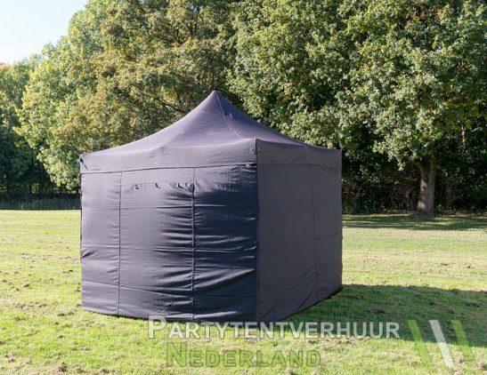 Easy up tent 3x3 meter voorkant huren - Partytentverhuur Dordrecht