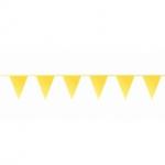 Gele vlaggetjes 10 meter kopen - Partytententverhuur Dordrecht