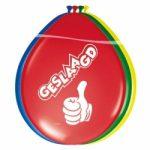 Geslaagd ballonnen multikleur - Partytentverhuur Dordrecht
