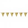 Gouden vlaggetjes 10 meter kopen - Partytententverhuur Dordrecht