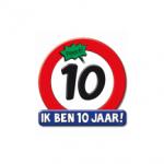 Huldeschild 10 jaar - Partytentverhuur Dordrecht