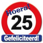Huldeschild 25 jaar - Partytentverhuur Dordrecht