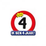 Huldeschild 4 jaar - Partytentverhuur Dordrecht