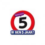 Huldeschild 5 jaar - Partytentverhuur Dordrecht