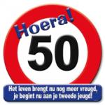 Huldeschild 50 jaar - Partytentverhuur Dordrecht
