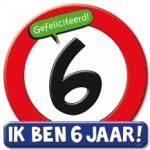 Huldeschild 6 jaar - Partytentverhuur Dordrecht