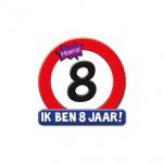 Huldeschild 8 jaar - Partytentverhuur Dordrecht