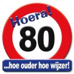 Huldeschild 80 jaar - Partytentverhuur Dordrecht
